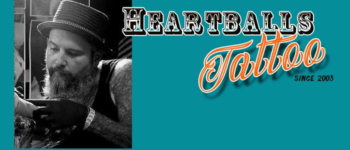 Heartballs Tattoo 74080 Heilbronn Logo